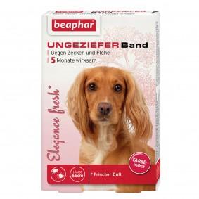 beaphar Elégance fresh Ungezieferband rot 65cm