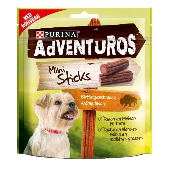 AdVENTuROS Hundesnack Mini Sticks 90g