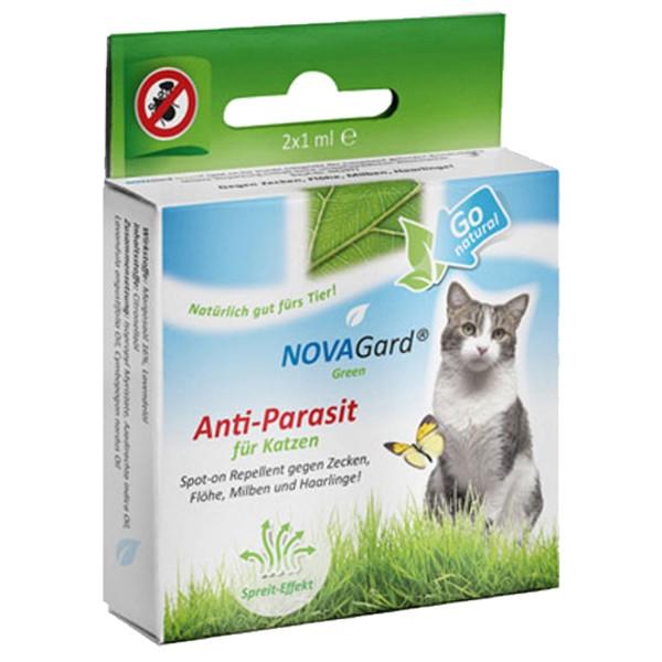 NovaGard Green Anti-Parasit Spot-On für Katzen