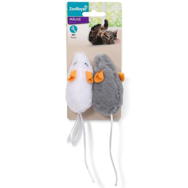 ZooRoyal Mäuse Set mit Rassel