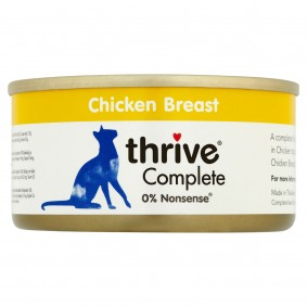 thrive Cat Complete Hühnerbrust 12x75g