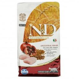 N&D Katzenfutter Adult getreidearm Huhn und Granatapfel