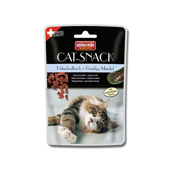 Animonda Cat Snack Hühnchenfleisch und Grünlippmuschel