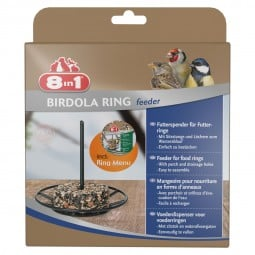 8in1 Futterspender Birdola Ring incl. Menu