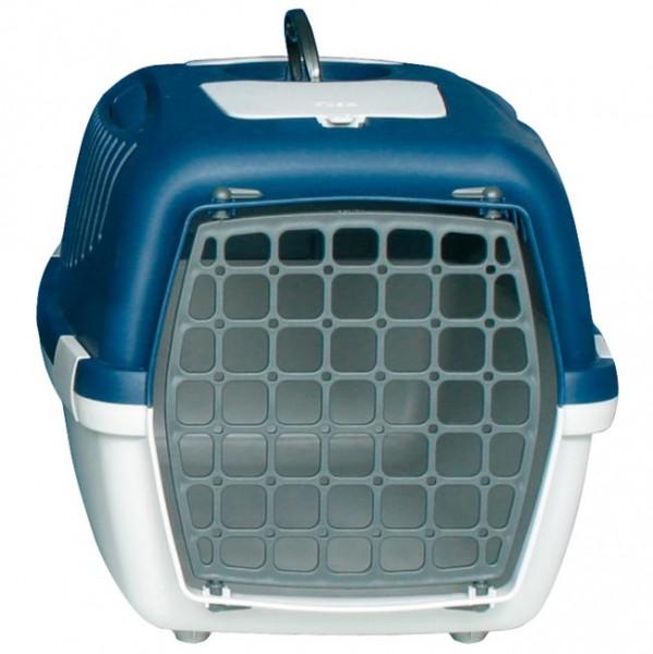 Katzen- und Hundebox Traveller Capri 3 - Blau/Grau