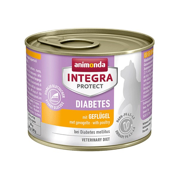 Animonda Integra Protect Katzenfutter Diabetes Geflügel