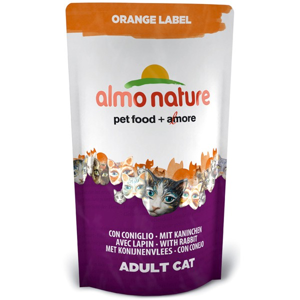 Almo Nature Orange Label Dry Kaninchen