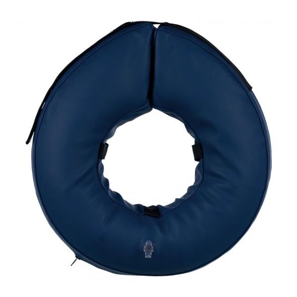 Trixie Schutzkragen aufblasbar blau
