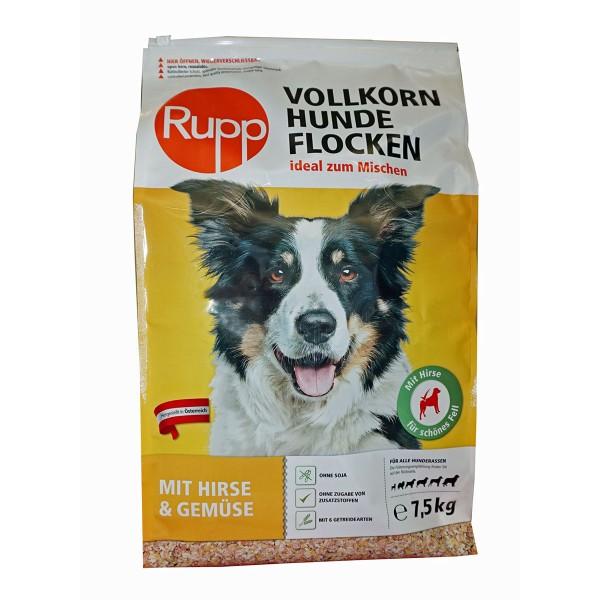 Rupp Vollkornhundeflocken mit Hirse und Gemüse 7,5kg