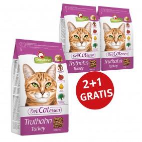 GranataPet DeliCatessen 2+1 Gratis Truthahn Adult400g