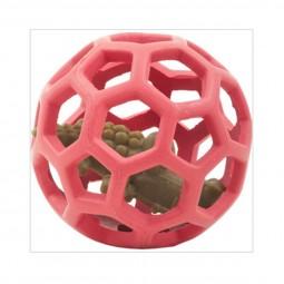 Gitterball in diversen Farben mit Whimzees Kausnack