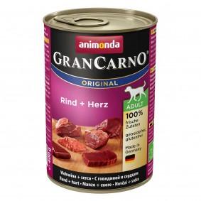 Animonda Hundefutter GranCarno Adult Rind und Herz