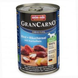 Animonda Hundefutter GranCarno Adult Rind und Räucheraal mit Kartoffeln