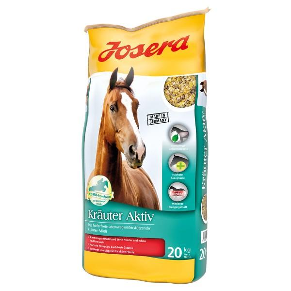 Josera Pferdefutter Kräuter Aktiv 20 kg