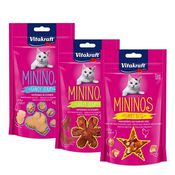 Vitakraft Mininos Mixpaket 3x40g
