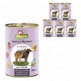 GranataPet Lieblingsmahlzeit Wild&Büffel