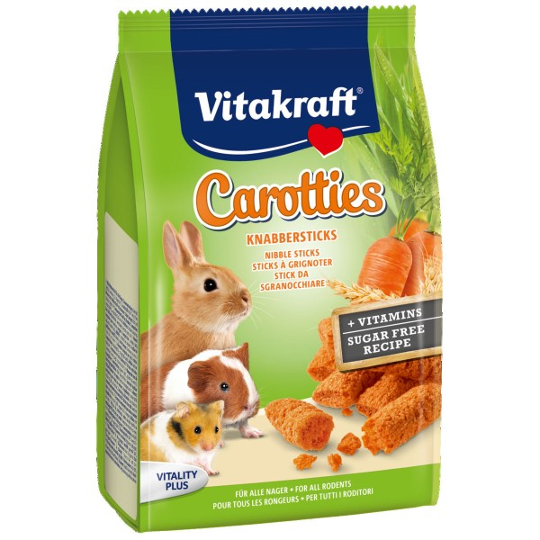 Vitakraft Carotties für alle Nager