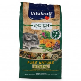 Vitakraft Emotion Pure Nature Herbal Chinchillas 600g