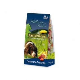 JR Dog Hundesnack Grainless Wellness-Flakes Sommer-Früchte 650g