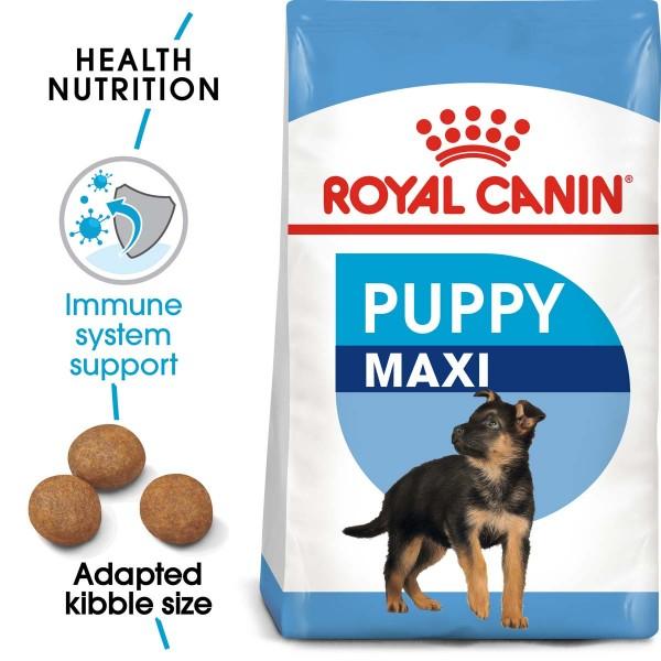 ROYAL CANIN MAXI Puppy Trockenfutter für Welpen großer Rassen 2x15kg