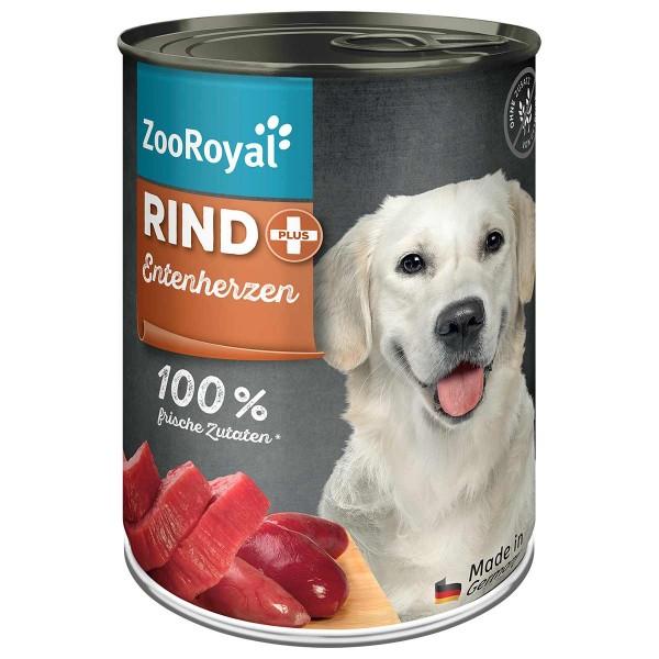 ZooRoyal Rind + Entenherzen 400g