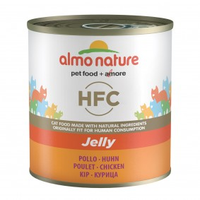 Almo Nature HFC Jelly Cat Huhn - 12x280g