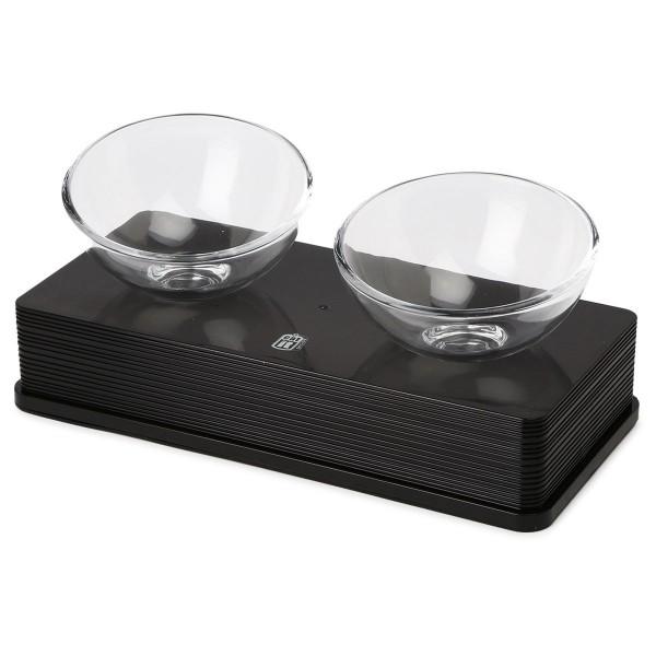 Catit Doppelnapf Glass Diner