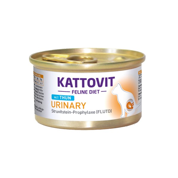 KATTOVIT Feline Diet Urinary Thun