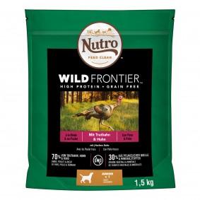 Nutro Junior Wild Frontier svysokým obsahem krocana akuřete 1,5kg