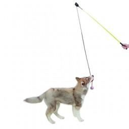 Kerbl Hundespielangel inkl. Ball am Seil 110 cm