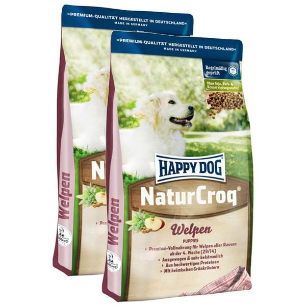 Happy Dog NaturCroq 2x15kg verschiedene Sorten