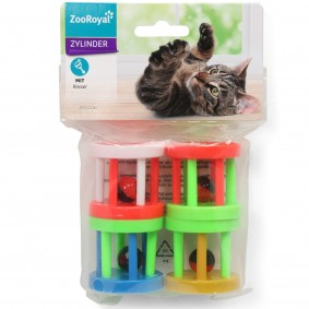 ZooRoyal Spielzylinder 4er Set