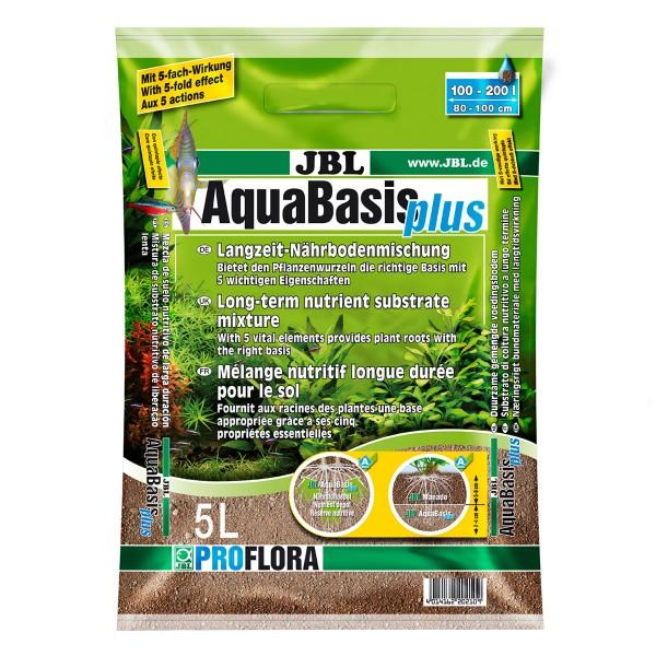 JBL AquaBasis Plus Langzeit-Nährbodenmischung 5 Liter