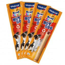 Vitakraft Hundesnack Beef-Stick Hot Dog 4er Pack