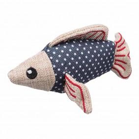 Trixie hračka pro kočky, ryba se šantou kočičí
