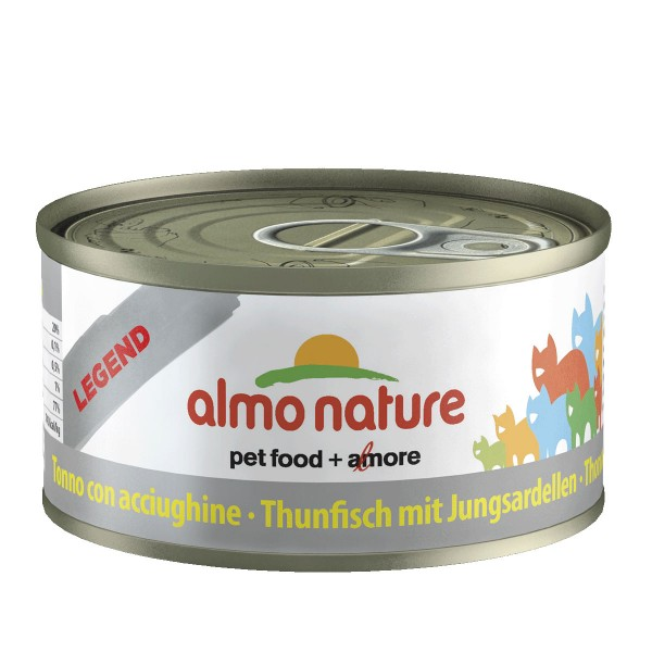 Almo Nature Katzenfutter 70g - Thunfisch & Sard...