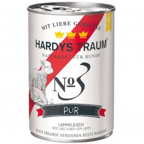 Hardys Traum Hundefutter Pur No. 3 Lamm