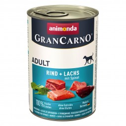 Animonda GranCarno Adult Rind und Lachs mit Spinat