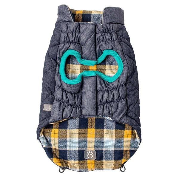 GF Pet Reversible Trail Jacke blau