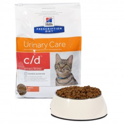 Hill's Prescription Diet c/d Urinary Stress Care Katzenfutter mit Huhn