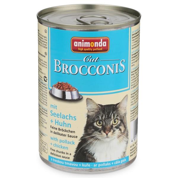 Animonda Katzenfutter Brocconis Seelachs und Huhn