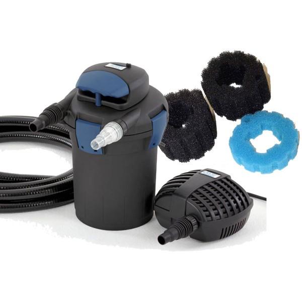 Druckfilter BioPress + Ersatzschwamm Set - 10000
