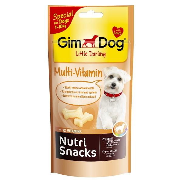 GimDog Hundesnack Nutri Snacks Multi-Vitamin 40g