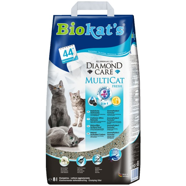 Biokat's Diamond Care MultiCat Fresh 8l