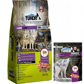 Tundra Lamm11,34kg + 100g Lamm Snack