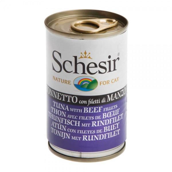 Schesir Cat Thunfisch mit Rinderfilet