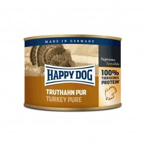 Happy Dog Truthahn Pur 12x200g